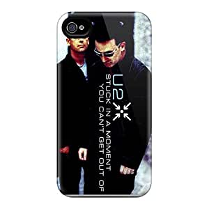 SherriFakhry Apple Iphone 4/4s Anti-Scratch Hard Phone Cases Customized Vivid U2 Skin [Wwn32046ADQK]