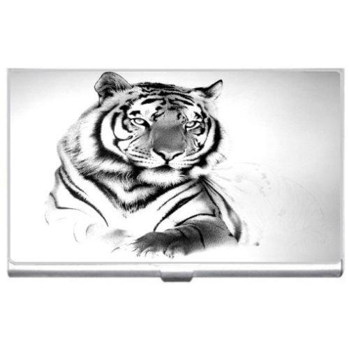 New White Tiger Business Credit Card Holder Case