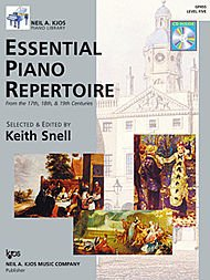 Essential Piano Repertoire - GP455 - Essential Piano Repertoire of the 17th, 18th, & 19th Centuries Level 5 by Keith Snell (2007-04-04)