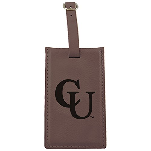 campbell-university-leatherette-luggage-tag-brown