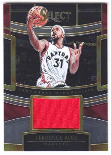 Terrence Ross 2018-19 Panini Select Throwback Memorabilia JSY #30 NM-MT MEM Raptors Basketball NBA from Panini Select