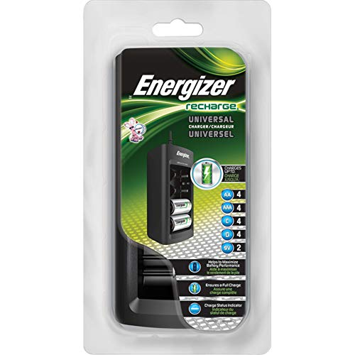 Charger Energizer Rechargeable - Energizer Recharge Universal Charger AA, AAA, C, D, 9V