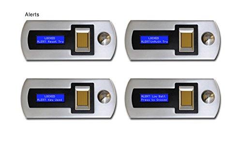 Verifi S6000 Smart.Safe. Fast Access Biometric Safe with FBI Fingerprint Sensor