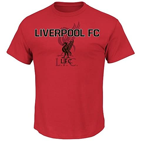 Soccer ,Liverpool Football Club, Youth, Liverpool Fc For All Time, Tee,Color,Red ,Size X-Large - Fc Club