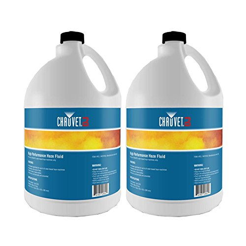 NEW! (2) Gallon Bottles of CHAUVET HURRICANE HFG Smoke/Fog Haze Machine - Haze Fluid