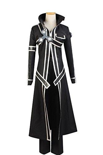 Sword Art Online Kazuto Kirigaya Cosplay Costume (Cosplaybar Sword Art Online Kazuto Kirigaya Cosplay Costume Male L)