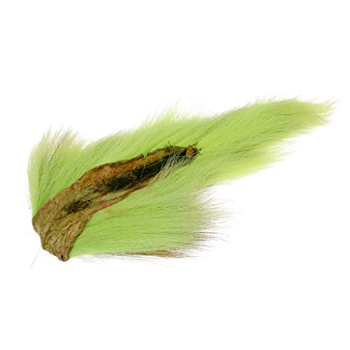 (Ameglia Simulation Bucktail Deer Tail Hair for Fly Tying or Tying Flies (Color - Green))