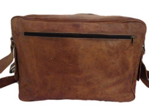 "True Grit Leather- ""Executive in pelle Laptop Messenger Borsa a tracolla borsa Crossover (17pollici)"
