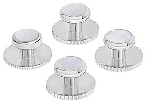 Silver/White Set of Five Mothe