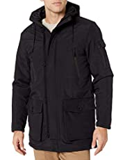 Cole Haan Oxford faux down puffer coat