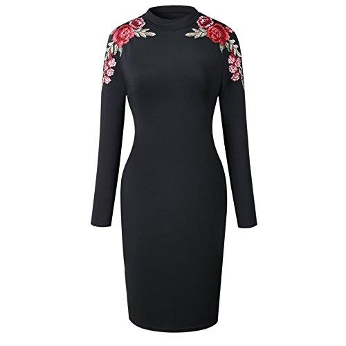 Slim Black Solid RAFAGO Strapless Dress zqwA1Y