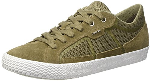 Geox U Smart I, Men's Low-Top Sneakers Marrone (Sage)