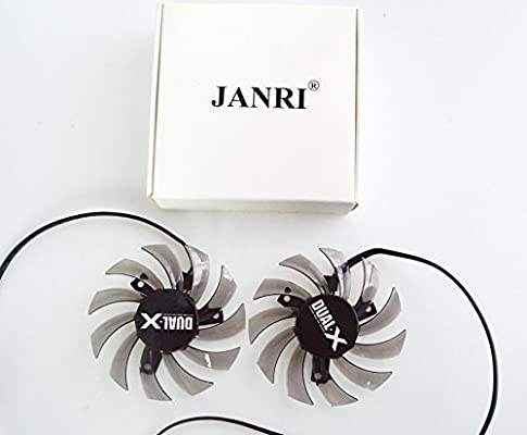 Amazon.com: janri Replacement 75 mm 4Pin VGA Tarjeta De ...