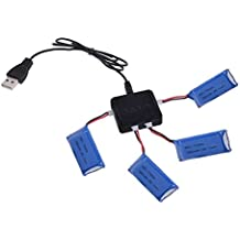 RC Accessory 3.7V 4 in 1 RC Quadcopter Battery Charger for Wltoys V929 V959 V969 V979 V989 V999 V212 V222 / UDI U817A U818A H388