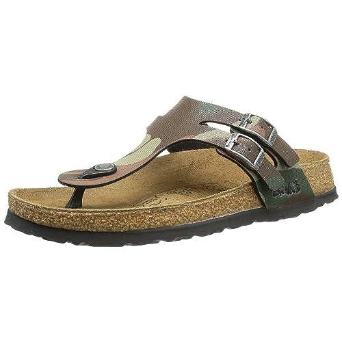 separation shoes 9986d ab4c6 Birki s Milos Bf, Tongs mixte adulte outlet