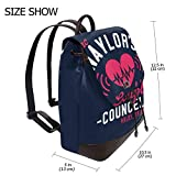 Jac Naylors Couples Councelling Holby Bristol Fashion Design Leather Backpack For Women Men College School Bookbag Weekend Travel Daypack