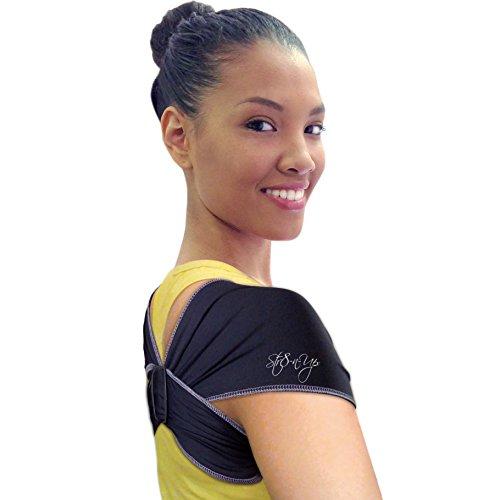 Str8 n Up Posture Support Medium Black product image