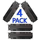 GASPRO 4-Pack Grill Heat Tent for Charbroil Grill Replacement Parts, 14 5/8 x 4 1/4'' Heat Plate for Kenmore, Master Chef, Thermos, Brinkmann Grill Parts, Heat Shield Flame Tamer BBQ Burner Cover