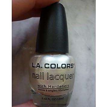 Amazon.com: L.A. colores, laca de uñas perla: Health ...