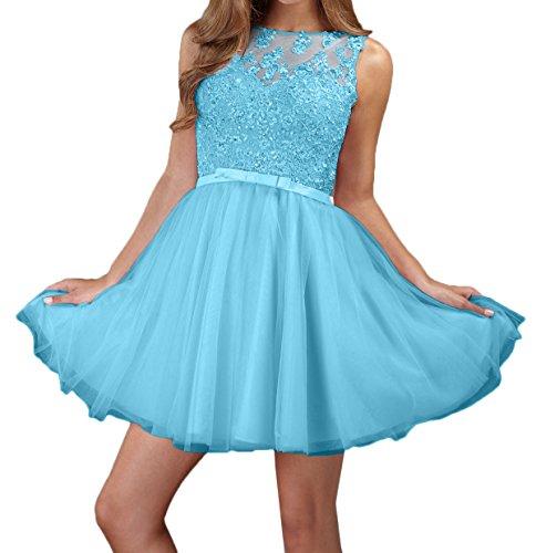Kleider Abendkleider Partykleider Blau Charmant Jugendweihe Damen Kurz Rosa Spitze Mini Cocktailkleider vxwz0B8Zqw