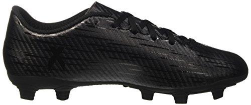 adidas X 16.4 Fxg, Botas de Fútbol para Hombre Negro (Core Black /         Core Black /         Dark Grey)