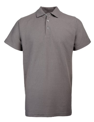 RTY Workwear Arbeitskleidung Heavyweight polo Feste Grau XL