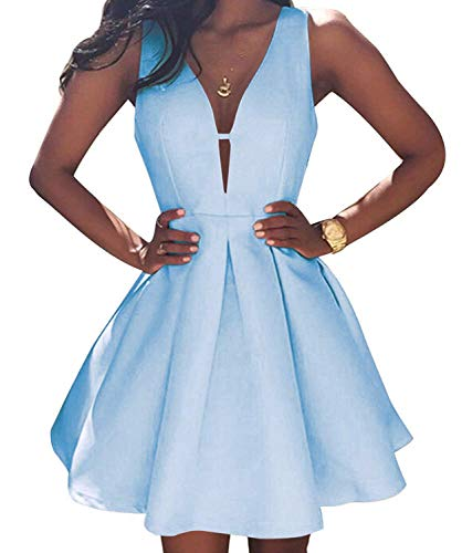 Ellenhouse Womens V Neck Homecoming Dresses product image