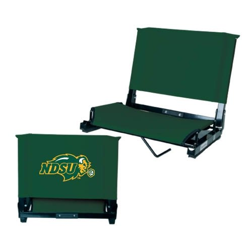 Amazon.com : North Dakota State Stadium Chair Dark Green U0027NDSU Bisonu0027 :  Sports Fan Sports Stadium Seats And Cushions : Sports U0026 Outdoors