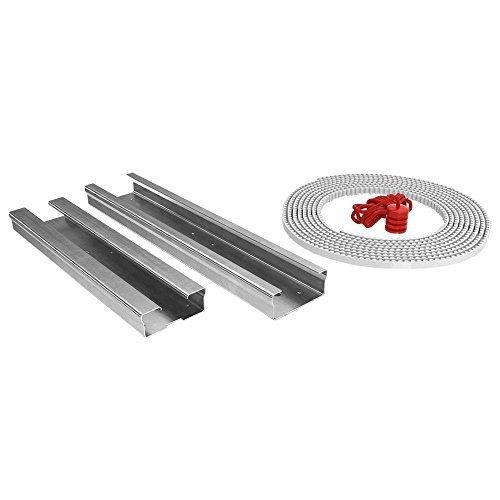 Ryobi 8 ft. Rail Belt Drive Extension Kit Garage Doors Openers & Accessories GDAEXT100