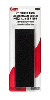 Oatea|#Oatey 31409 Carded Nylon Pads,