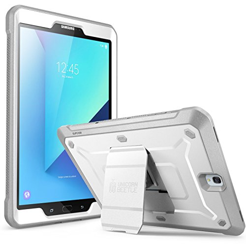 SUPCASE Galaxy Tab S3 9.7 Case Unicorn Beetle Pro Series Full-Body Rugged with Built-in Screen Protector, White/Gray (SUP-Galaxy-TabS3-9.7-UBPro-White/Gray)