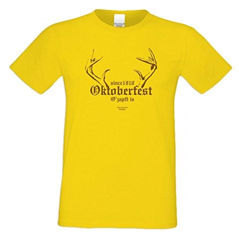 Wiesn T-Shirt statt Tracht & Dirndl - Since 1810 Oktoberfest - Lustiges Spruchshirt als Geschenk zum Volksfest sp3