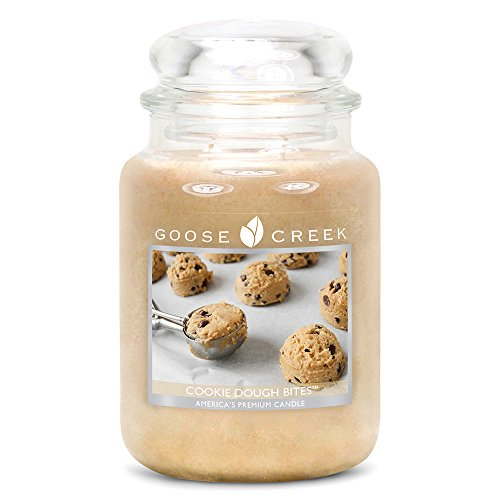 (Goose Creek Scented Candles Cookie Dough Bites Large Jar Candle Great Fragrance 24 oz)