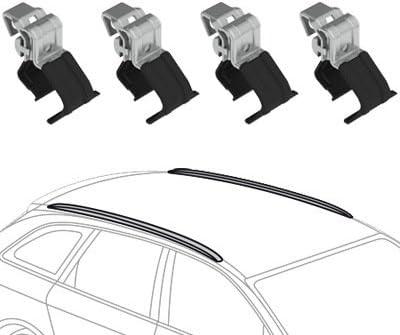 Nordrive Snap Steel en acier noir Barres de toit pour BMW X1 de 10//2009 /à 10//2015 avec serrure antivol E84