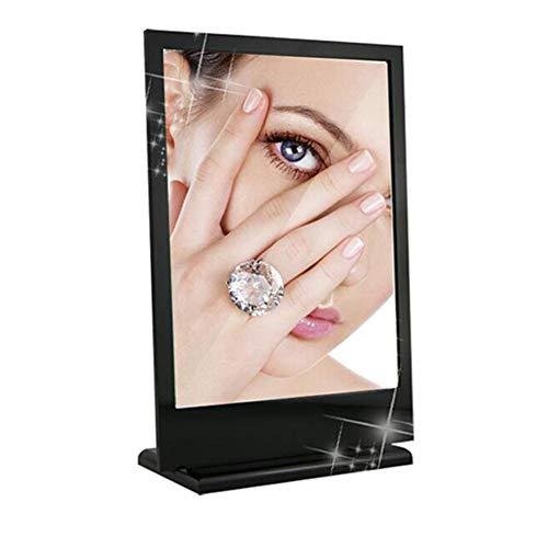 CHERRIESM Espejo cosmético de Escritorio Acrílico Maquillaje de Escritorio Espejo Joyas Joyerías Vestidor Europeo Espejo...