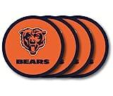 NFL Chicago Bears Vinyl Coaster Set (Pack of 4)