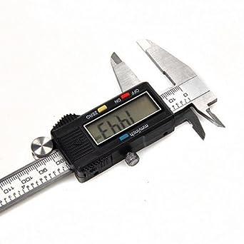 LCD Digitaler Messschieber Digitale Schieblehre 150mm Elektronisch Caliper Tool