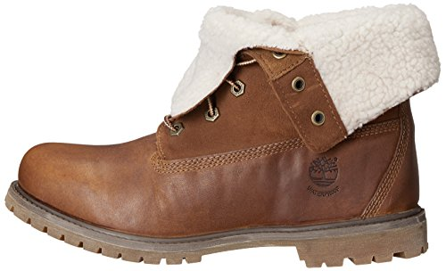Femme Teddy Fold authentics Ftw Down Marron Braun Timberland Bottines Wp Authentics Forty Fleece Classiques tobacco tqvFBw