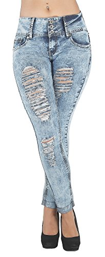 LS9 98231S Levanta Destroyed Ripped Skinny product image