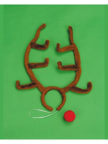 Rudolph Antlers and Nose Set (Antlers Rudolph)
