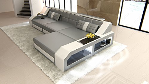 Modern Sectional Sofa AREZZO LED L- Form