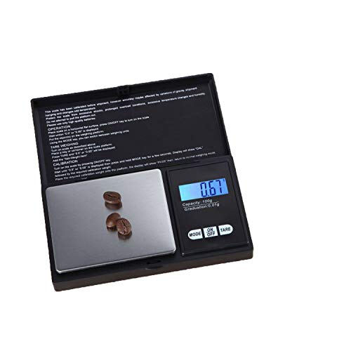 Jifnhtrs Portable Jewelry Scales Square Electronic Scales Mi