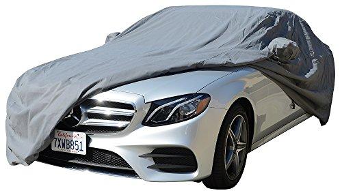 1990~2018 Mercedes S Class Sedan CAR COVER 300SE 300SEL 300SD 350SD 350SDL 420SEL 560SEL S320 S420 S500 S550 S600 S63 S65 (Space Gray) ()