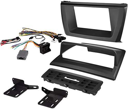 Scosche BW2339SRB 2004-2010 BMW X3 E83 Double Din Stereo Installation Kit