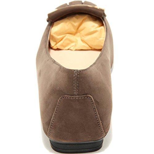 Tod's Shoes Women Flat 4145g Marrone Ballerina Fondo Donna Kaki ABg1IBq
