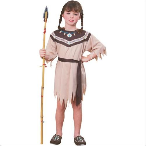 Native American Indian Princess Kids Costume - Large