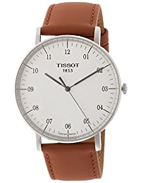 Tissot T-Classic Everytime White Dial Mens Watch T1096101603700