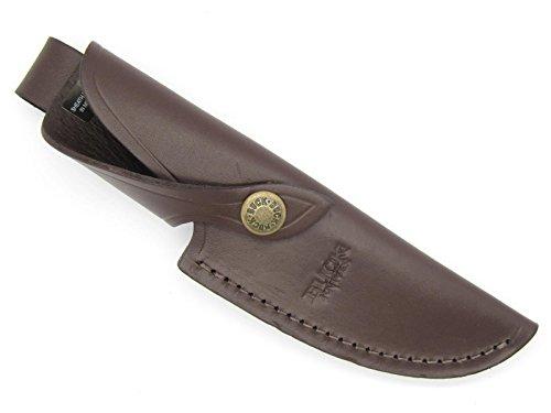 Buck Sheath 191 192 691 692 Sheath Vanguard Zipper Dark Brown Leather Fixed Blade Knife Sheath Review