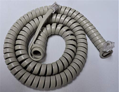 Lot of 10 Ash 12' Ft Handset Phone Cords for Nortel Norstar Meridian M Series M7100 M7208 M7310 M7324 M2000 M2006 M2008 M2112 M2216 M2317 M2616 Centrex M5000 M5008 M5009 M5216 M5316 by DIY-BizPhones
