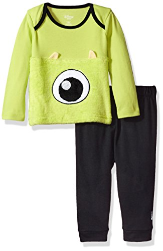 Disney Baby Boys' Monsters Inc Pant Set, Black, 18M (Monsters Inc Crib Set Babies R Us)